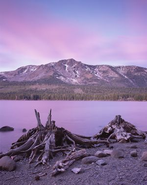 Glowing Sunrise, Fallen Leaf Lake.jpg